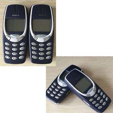 Nokia 3310 sbloccato originale telefono cellulare nero classico autentico 2G Bar
