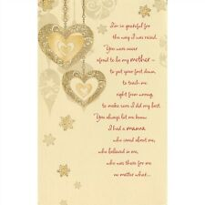 American Greetings Christmas Card: Mom..I'm So Grateful For the Way I Was Raised