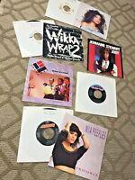 "rare lot Soul Rap Hip Hop Funk R&B Boogie Dance 7"" vinyl 45's FREE SHIPPING"