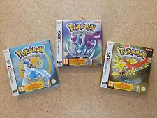 LOT DE 3 JEUX NEUF Nintendo 2DS/3DS - POKEMON CRISTAL / OR / ARGENT - CODE