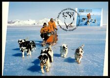AAT ANTARCTIC MK SCHLITTENHUNDE HUNDE HUND DOG CARTE MAXIMUM CARD MC CM bq13