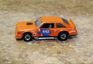 Hot Wheels Flat Out 442 Blackwall 1978 Orange Made in Hong Kong