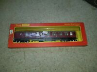 'OO' GAUGE TRIANG HORNBY R422A LMS full 3rd MAROON PASSENGER COACH with seating