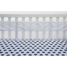 Nautica Kids Mix & Match Secure-Me Crib Liner in Grey