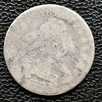 1807 Draped Bust Dime 10c Rare Early Date Circulated  #7677