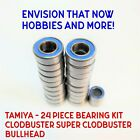 TAMIYA - 24 Piece Rubber Seal Bearing Kit Clodbuster Super Clodbuster Bullhead