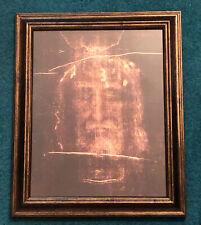 Shroud of Turin 11x14 Framed Image - Holy Face of Jesus
