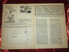 FANZINE DI FUMETTI IL FUMETTO RIVISTA DEI COMICS A CURA DELL'ANAF NOVEMBRE 1972