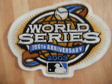 """MLB WORLD SERIES """"2003""""  Game Jersey PATCH New"""