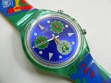 1995  Swatch watch Chrono - chronograph,Unlimited  SCZ103PACK