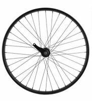 """CRUISER BIKE BICYCLE 26"""" X 2.125 36 Spoke Coaster Wheel 12G Black"""