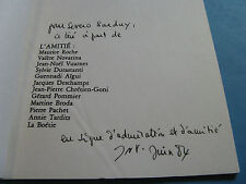 JEAN-NOEL VUARNET POMPEÏ 1984 PHILOSOPHE Illustré ENVOI Signé LACAN DELEUZE Rare