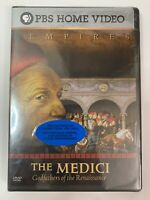 Empires: The Medici Godfathers of the Renaissance Widescreen PBS Home Video NEW