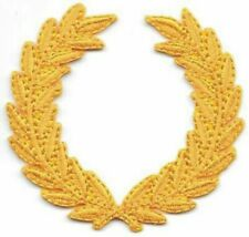 "2"" SCA All Yellow Laurel Wreath Embroidery Patch"