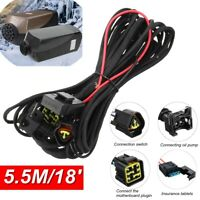 HCalory Split diesel Air Heater Wiring Loom Power Supply Cable Adapter AHH !
