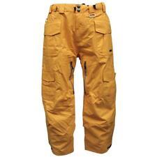 Rip Curl GENERATOR Snow Pants Mens Size L Orange Waterproof Ski Snow Board Pant