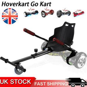 Hoverkart Go Kart for Hoverboard Self Balance Scooter Hover Cart board Black UK