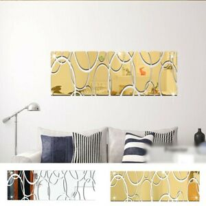 Wall Stickers Mirror Sticker Home Decoration DIY Art Home Decor Wall Decal Mural