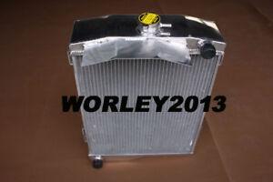 3 core aluminum radiator  for AUSTIN HEALEY 3000 1959-1967 manual