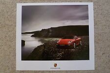 2007 Porsche Boxster S Showroom Advertising Sales Poster RARE!! Awesome L@@K