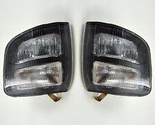 Pair Front Corner Turn Signal Lamp Light For Mitsubishi Pajero Montero 97 99