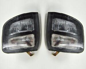 Pair Front Corner Turn Signal lamp Light for Mitsubishi Pajero Montero 97-99