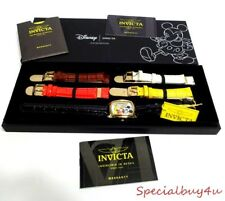 AB1 Disney Invicta Limited Edition Watch Gold Toned Multiple Band MIckey Mouse
