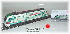 """Railad 1036 AC e-Lok Taurus Siemens 1116 130 """"e-card"""" di corrente alternata versione #neu #"""