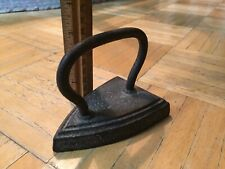 Early 19th Century Small Size Cast Iron  Flat Iron Nice Example