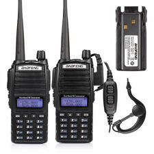 2x BaoFeng UV-82L+ 1x Extra Battery  VHF/UHF 136-174/400-520MHz Two-way Radio