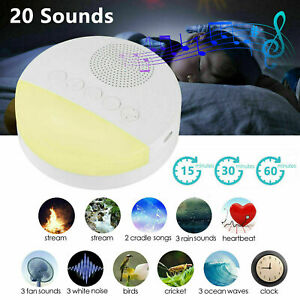Sound Spa Relax Machine White Noise Baby Easy Sleep Night Nature Therapy Peace