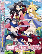 DVD Fate Kaleid Liner Season 1-3 English Dubbed With Subtitle Japan Anime