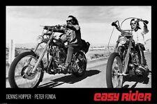 EASY RIDER MOVIE BIKES POSTER (61x91cm)  PICTURE PRINT NEW ART
