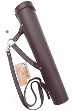 SYNTHETIC ARROW BACK/SIDE/HIP ( 2 IN 1 ) QUIVER ARCHERY PRODUCTS SAQ-143 BROWN.