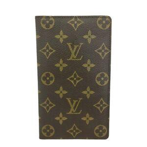 Louis Vuitton Monogram Agenda De Posh Notebook Cover /C1307