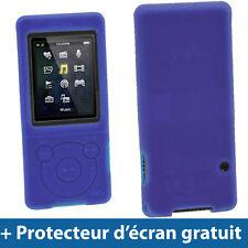 Bleu Étui Housse Silicone Coque Case Cover Sony Walkman MP3 NWZ-E575 NWZ-E574
