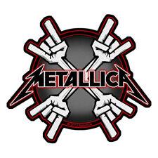 "METALLICA - ""METAL HORNS"" - WOVEN SEW ON PATCH"