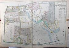 1907 E. ROBINSON RICHMOND, STATEN ISLAND, NY ST. PETER'S CEMETERY COPY ATLAS MAP