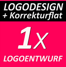 LOGOFLATRATE 1x Logoentwurf Logo Firmengründung Firmenlogo + KORREKTURFLATRATE