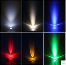 5mm white/red/blue/purple uv led Lamp Ultra Bright LED Light Lamp Bulb WHITE New