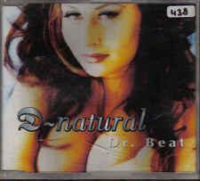 D Natural-Dr Beat cd maxi single 6 tracks Eurodance holland
