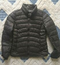 UNIQLO WOMEN'S Charcoal ULTRA LIGHT DOWN COMPACT JACKET M Excellent Condition