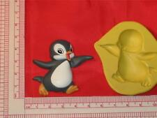 Penguin Silicone Mold Candy Cake pop Chocolate Resin Clay A740