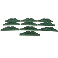 10PCS Military Model Scene Toy Soldiers Army Men Accessory Sandbag Shelters