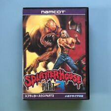 Splatter House Part 3 Sega Mega Drive MD Japan