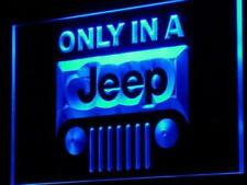Jeep Only In A Led Neon Sign 7 color choose 3D Sign Us Shipper