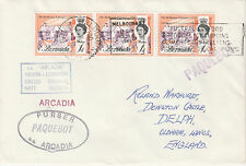Bermuda 4497 - Used in MELBOURNE, VICTORIA 1968  PAQUEBOT cover to UK