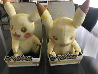 20th anniversary Pokemon 2016 Pikachu plush Tomy Wink Rare Collectible HTF New