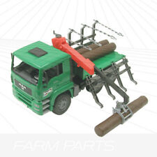 Bruder MAN Timber truck with loading crane 02769