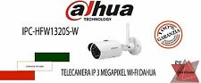 IPC-HFW1320S-W Telecamera IP Bullet 3 megapixel WI-FI ottica 3,6mm Dahua